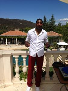 DJ Jermaine at Jamie Foxx's House