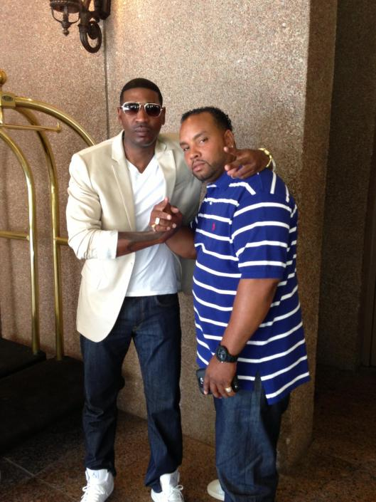 MC Lyte's Offical DJ ..DJ K Rock and I Hangin out at The BET Awards 2013, Atlanta