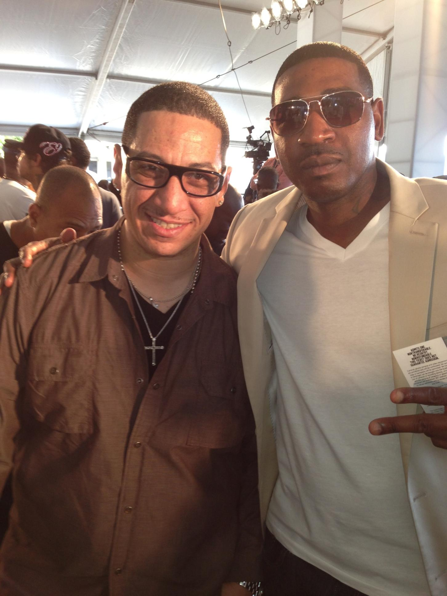DJ Kid Capri and I on The Red Carpet @ The 2013 BET Awards