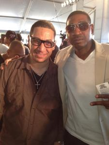 DJ Kid Capri & I at 2013 BET Awards in Atlanta, GA