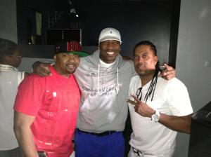LC's Finnest... BooJoe, DJ Quik Mix Claude and I at our birthday party 2014