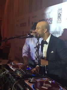 Common and DJ Jermaine rockin out
