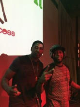 DJ Jermaine and Talib Kweli